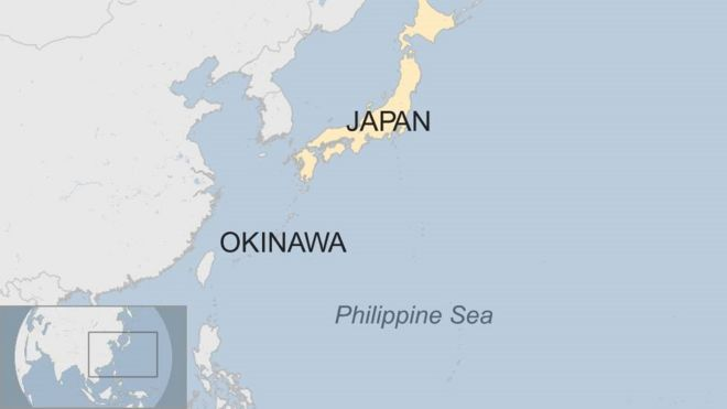 Us Fighter Jet Crashes Into Sea Off Japan Bbc News