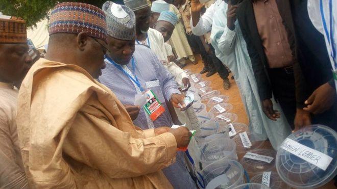 APC 'ta rabu biyu' a wasu jihohi - BBC News Hausa