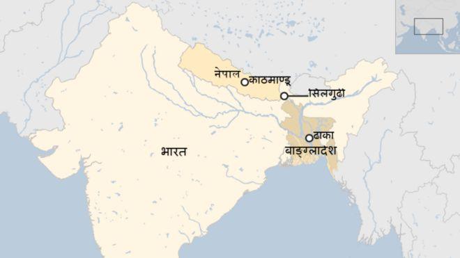 नेपाल, भारत, बांग्लादेश
