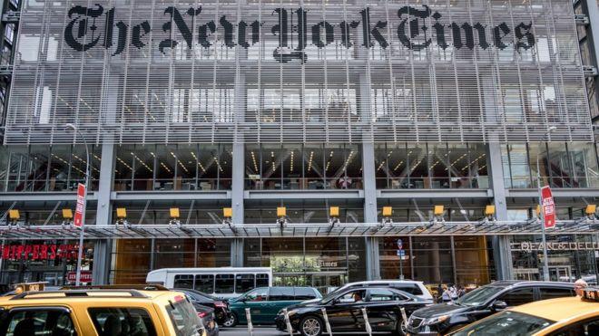 Пулитцеровская премия 2020 года присуждена газете New York Times