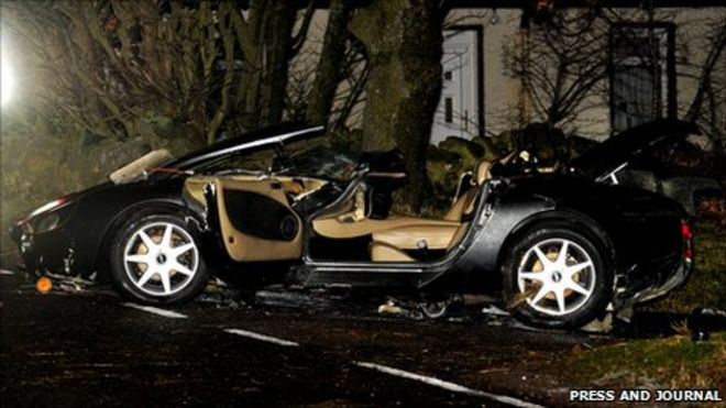 Royal Marine And Sister Killed In Sport Car Crash Named Bbc News