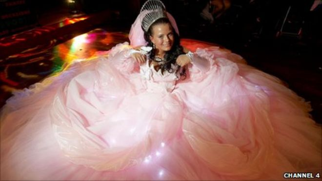 My Gypsy Wedding.My Big Fat Gypsy Wedding Why Is It A Hit Bbc News