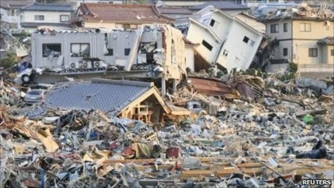 Japan earthquake: Tsunami leaves Sendai area devastated - BBC News