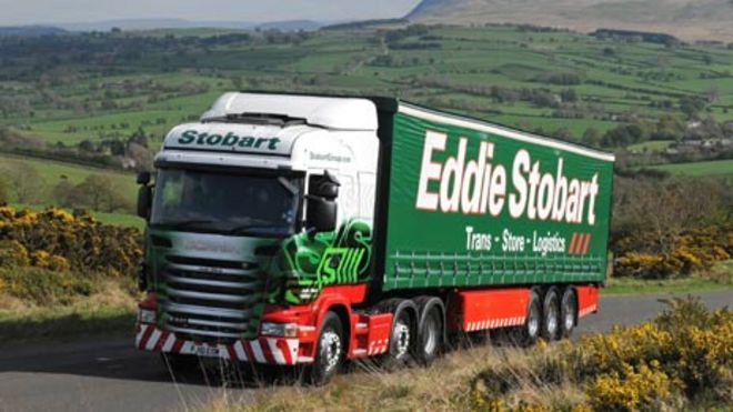 How did Eddie Stobart become so famous? - BBC News