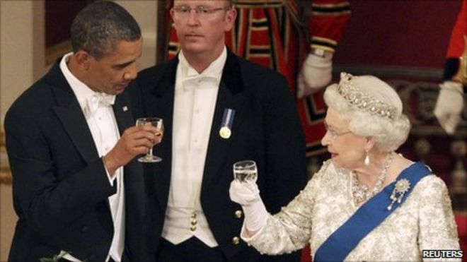 Why are there rules for meeting the queen bbc news barack obama with the queen publicscrutiny Choice Image