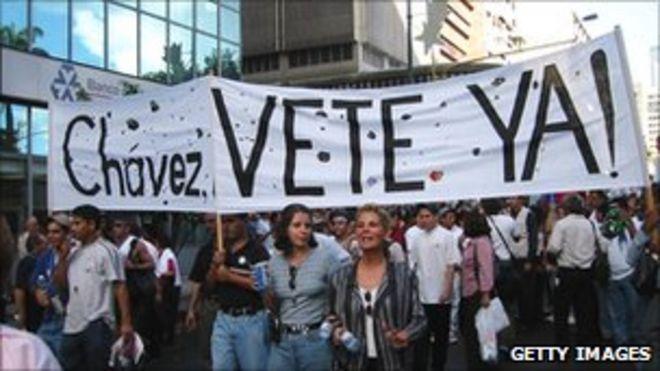 Анти-Чавес Демо Каракас