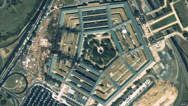 Number Names Worksheets pictures of a pentagon : In pictures: Pentagon before and after 9/11 - BBC News