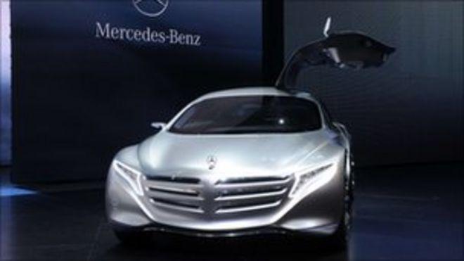Во Франкфурте демонстрируется концепт-кар Mercedes F125 на топливных элементах