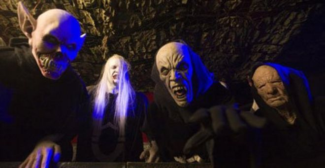 The Rise Of The Halloween Haunted House   BBC News