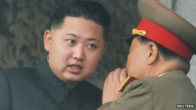 Kim Jong-Un Angry