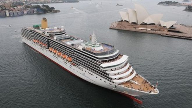 Cruise Liner Growth Set To Continue BBC News - History of cruise ship industry