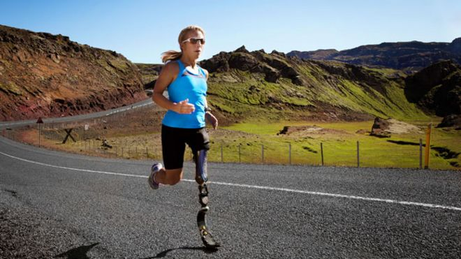 63e38d10a9 A Nike accessory for the new age of Paralympic glamour - BBC News