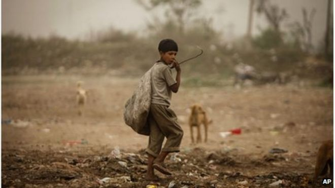 who are the poor in india bbc news