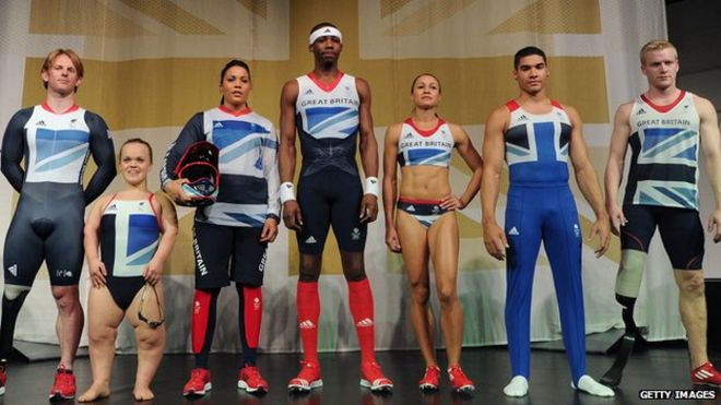 3c2b2775e3c Team GB 2012 Olympic kit revealed - BBC News