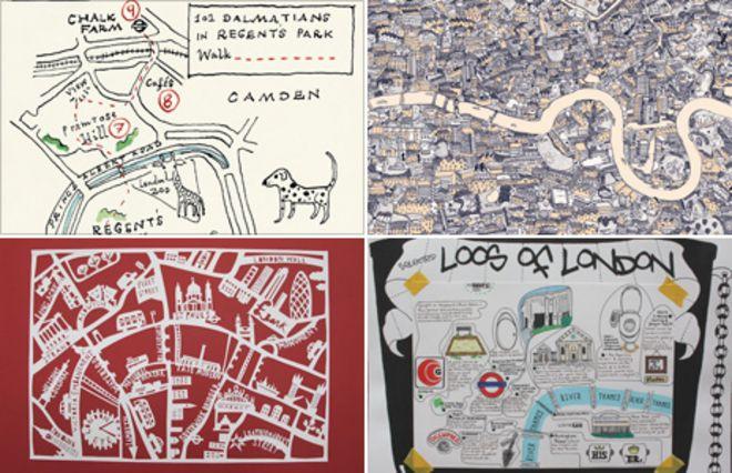 Карты от лондонских
