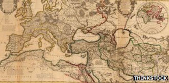 Карта Pax Romana