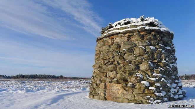 New footpaths network to Culloden Battlefield - BBC News