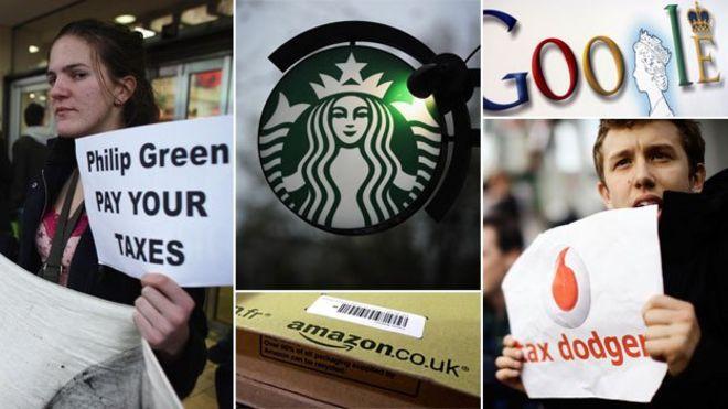 Google, Amazon, Starbucks: The rise of 'tax shaming' - BBC News