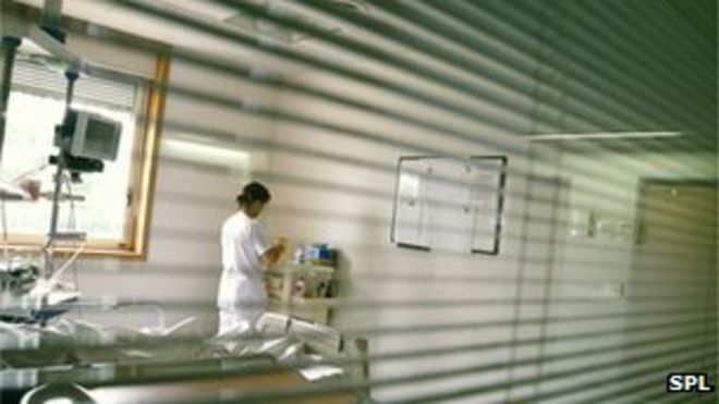 Медсестра на работе