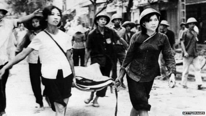 north vietnamese rescue workers - Christmas Bombings