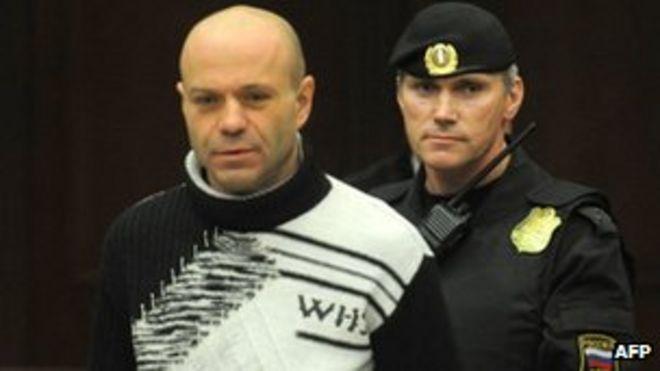 Дмитрий Павлюченков в суде. Фото: 14 декабря 2012 г.