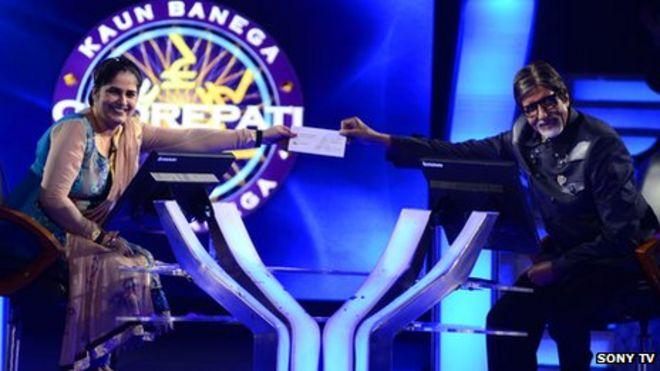 India woman Sunmeet Kaur Sawhney wins Millionaire show - BBC