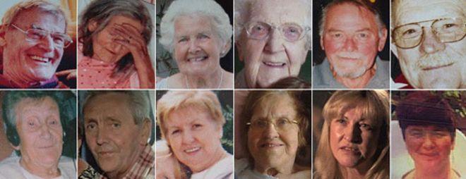 Жертвы Стаффордской больницы