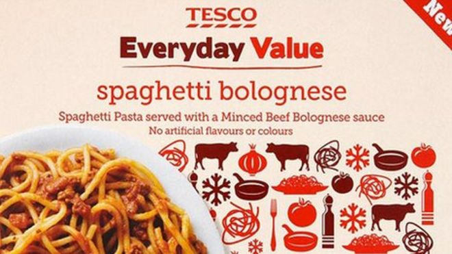 Horsemeat Scandal Tesco Reveals 60 Content In Dish Bbc News