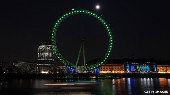 Зеленый Лондонский Глаз