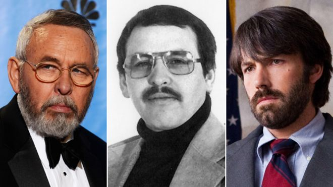img Tony Mendez now (left and centre) and played by Ben Affleck