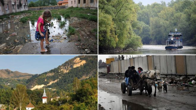 Why has romania got such a bad public image bbc news composite of images from romania publicscrutiny Image collections