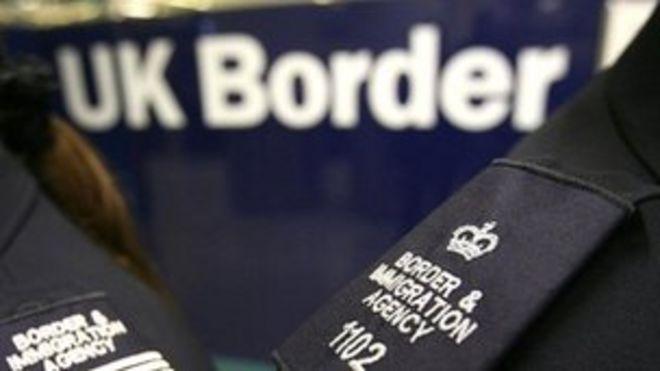 Пограничное агентство Великобритании