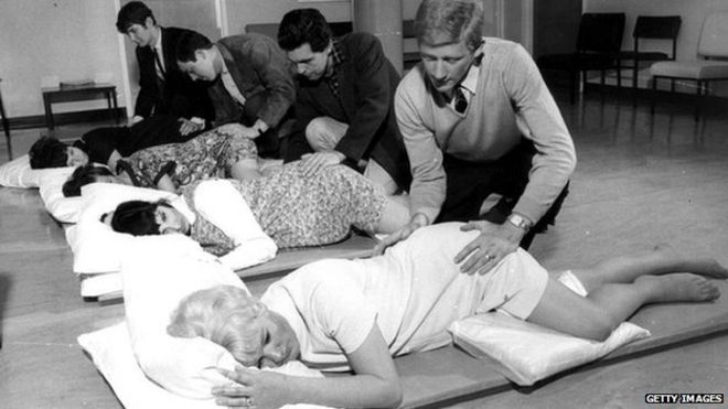 How it became almost mandatory for dads to attend the birth