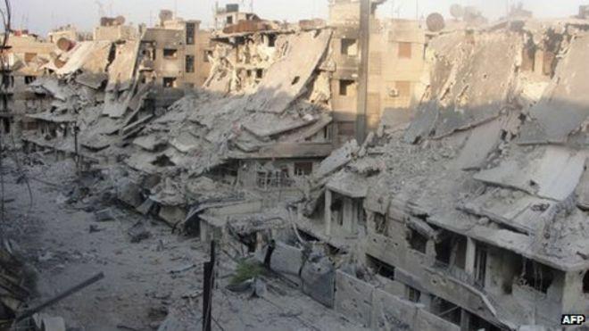 Syria arms ban debate intensifies in Europe - BBC News
