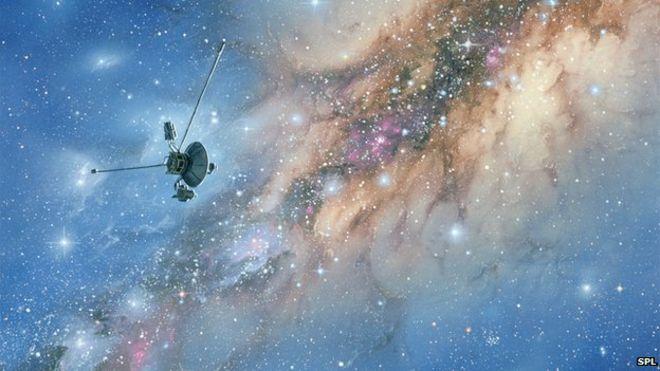c9497f31dfe Voyager surfs Solar System's edge - BBC News