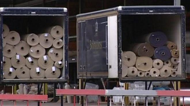 Brintons Carpet Lorries