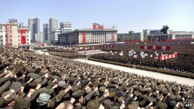 North Korea Embassies Stay Despite Security Warning BBC News - Korea us embassy map