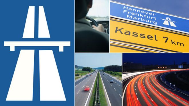 Autobahn speed limits Germanys love of the fast lane  BBC News