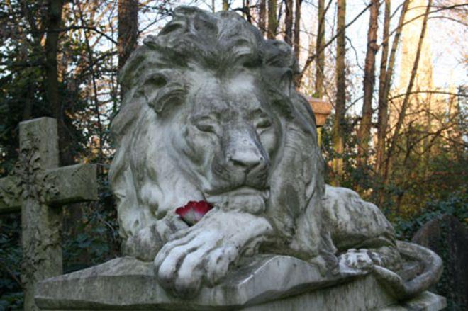 Кладбище Abney Park, в Сток Ньюингтон, Лондон