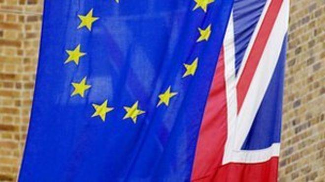 Флаги ЕС / Юнион Джек
