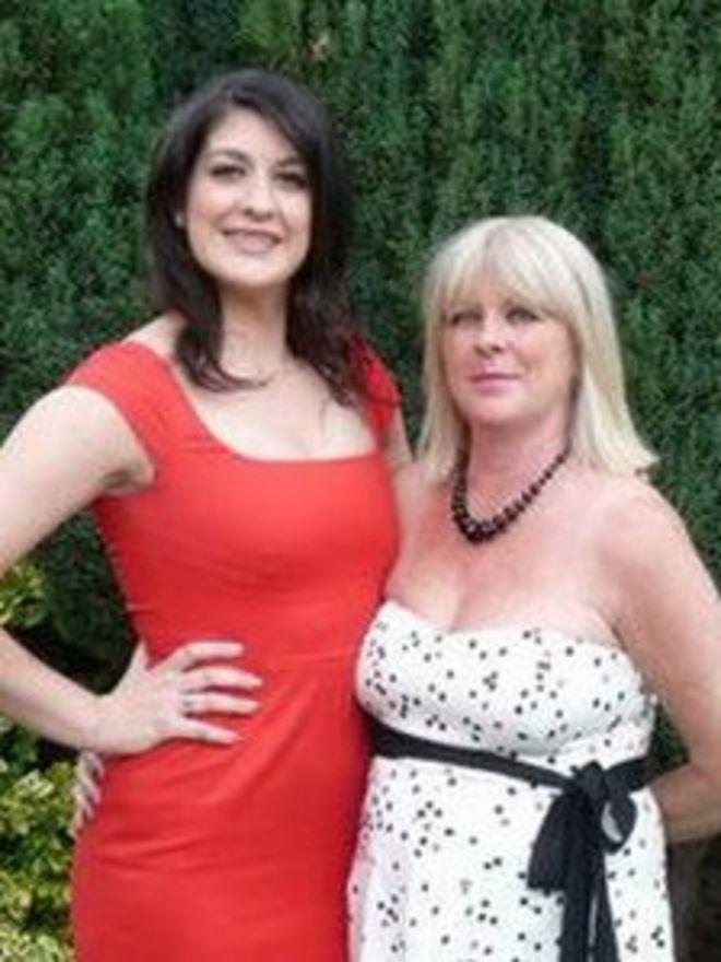Кейли и ее мама