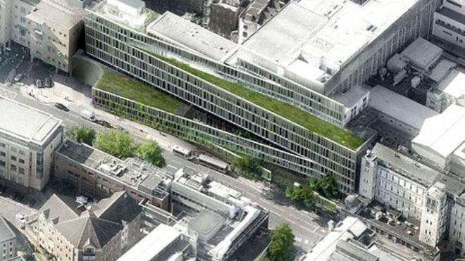 Bristol Royal Infirmary facade design winner announced BBC News