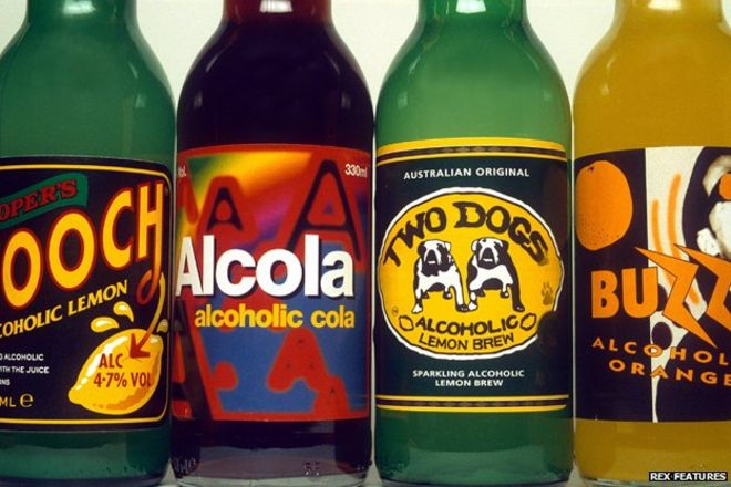 The quiet death of the alcopop - BBC News