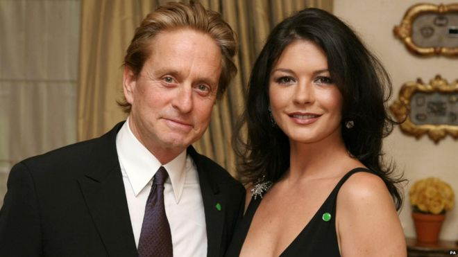 In pictures: Michael Douglas a...