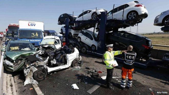 Sheppey crossing crash: Dozens hurt as 130 vehicles crash