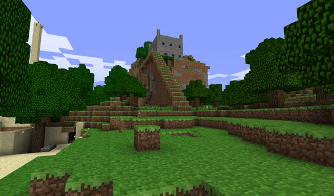 Minecraft Denmark Replica Disrupted By Cyber Vandals Bbc News