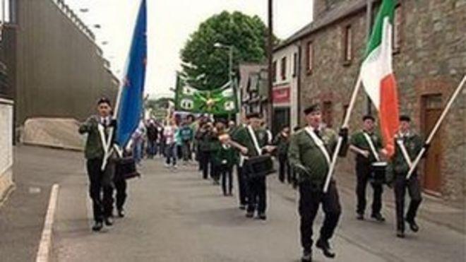 Республиканский парад в Каслдерге