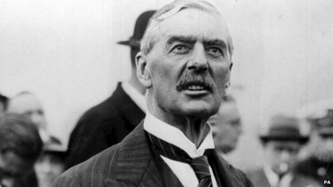 Was Neville Chamberlain Really A Weak And Terrible Leader Bbc News