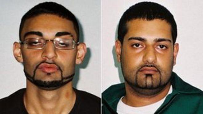 Ахдель Али и Мубарек Али (слева направо)