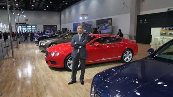 British Brands Take On The Chinese Market BBC News - British car show bbc